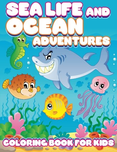 Sea Life Ocean Adventures Coloring product image