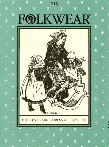 Patterns - Folkwear #213 Child's Prairie Dress & Pinafore