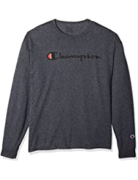 Men's Classic Jersey Long Sleeve Script T-Shirt