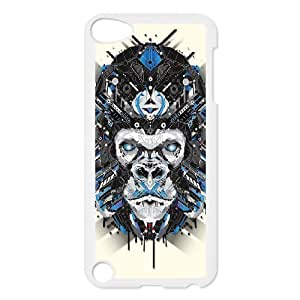 Animal Art Artificial Personalized Cover Case with Hard Shell Protection for Ipod Touch 5 Case lxa#837665