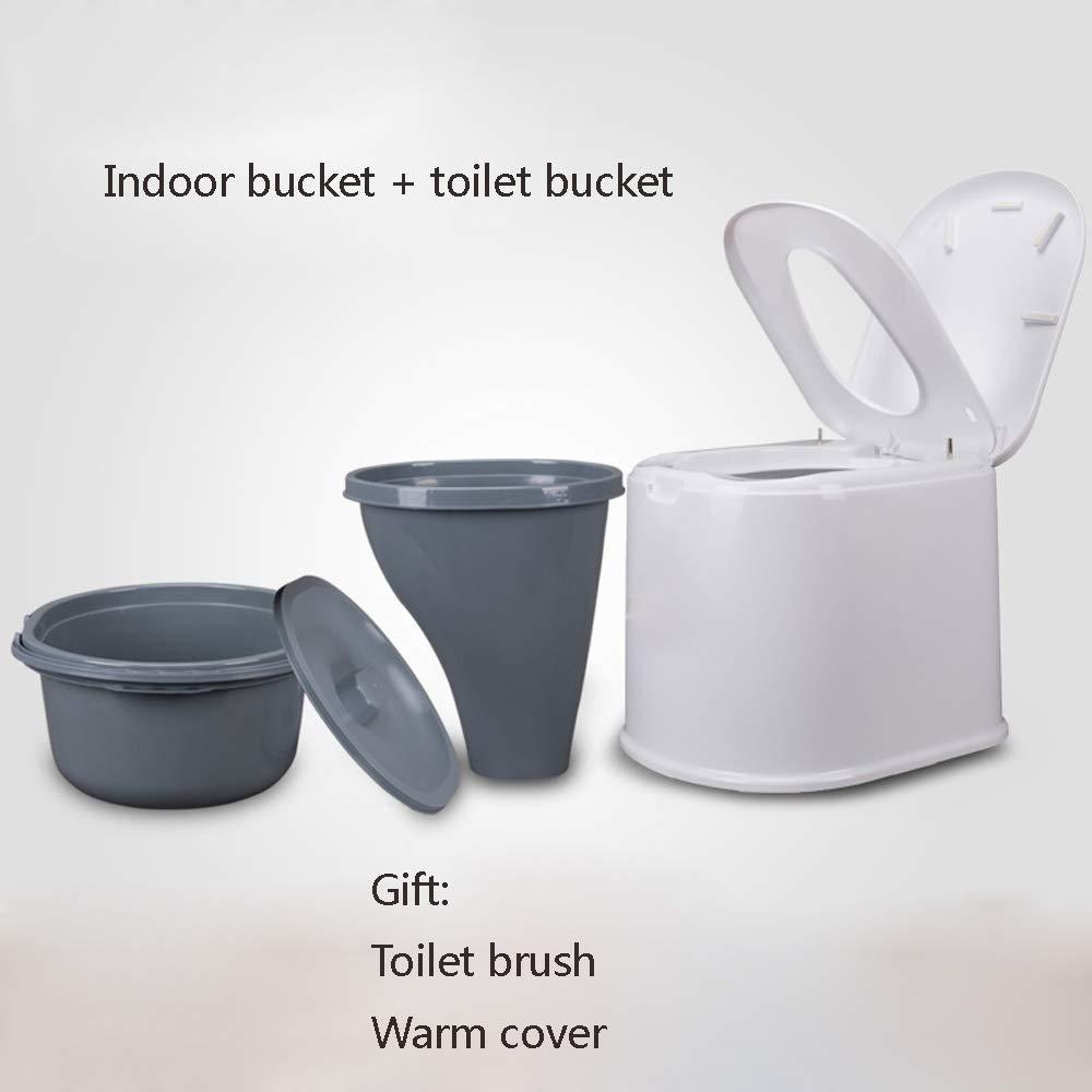Bewegliche Bewegliche Toilette Erweiterte Erhöhten Älteren Erwachsenen der Erwachsenen Frauen des Plastiktoilettensitzes,A