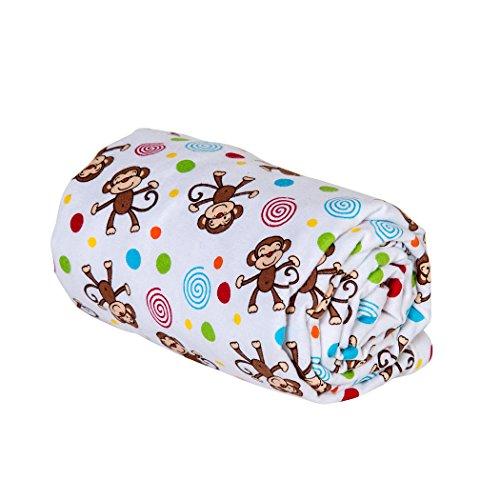 Trend Lab Swaddle Blanket Monkey