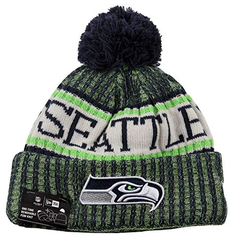 New Era Seattle Seahawks NFL 2018 On Field Sport Knit Multi-coulored,One Size]()