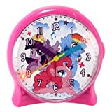 My Little Pony Quartz Analog Time Teacher Alarm Clock