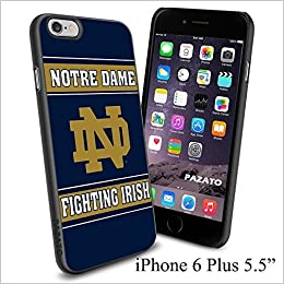online store 8670b 80f32 Amazon.com: NCAA ND NOTRE DAME FIGHTING IRISH , Cool iPhone 6 Plus ...