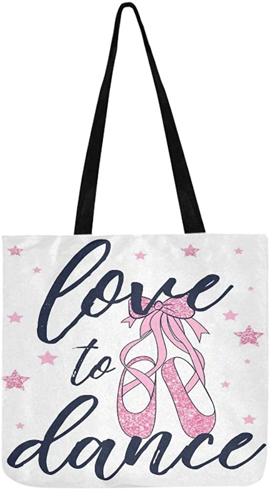 PERSONALIZED Tote Bag for Girls who love to DANCE!!!