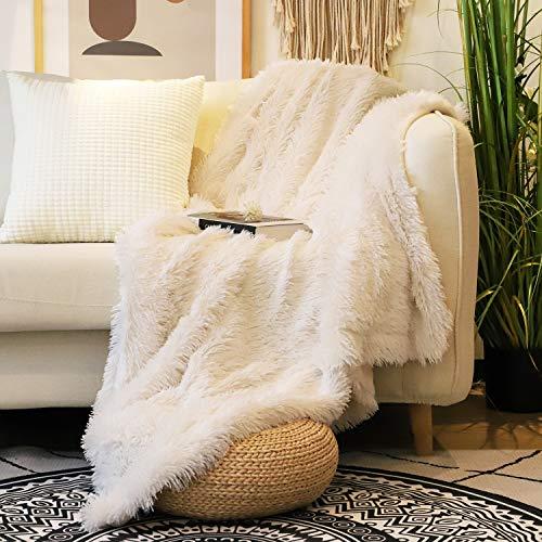 Decorative Extra Soft Faux Fur Throw Blanket