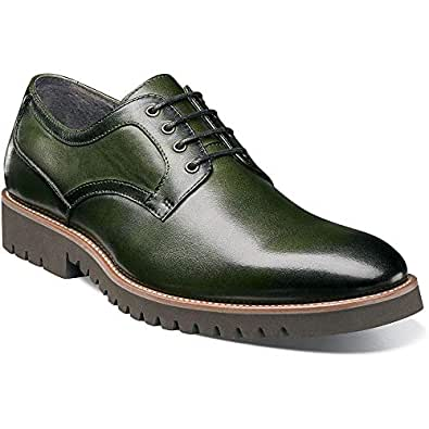 Stacy Adams Mens Barclay Lace-up Oxford Green Size: 7.5 US / 6.5 AU