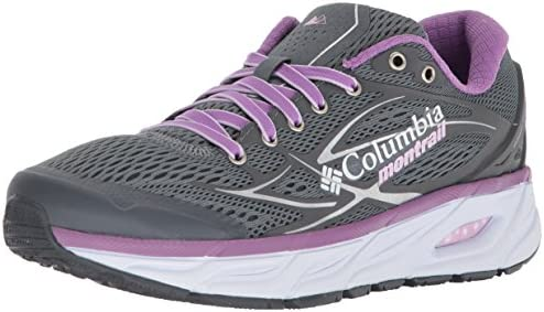 Columbia Women s Variant X.S.R. Trail Running Shoe, Grey ash, Phantom Purple, 7.5 B US