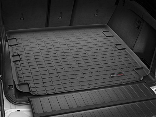 2010-2017 Lexus GX Weathertech Cargo Liner (Only Fits Models With Dual-Zone Climate Control) - Black (Dual Zone Climate Controls)