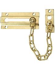 Wolfpack 3090440 Cadena Seguridad Puerta Latonada (Blister 1 pieza)
