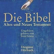 Altes und Neues Testament Hörbuch von div. Gesprochen von: Sven Görtz