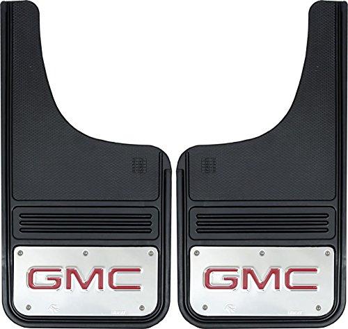 Gatorback GMC Sierra Red Truck Mud Flaps - Front or Rear Pair