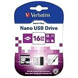 Verbatim 16GB Store 'n' Stay USB 2.0 Flash Drive, Black 97464