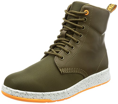 Dr. Martens Mens Rigal Cdr Temperley E Cordura Fashion Boot Mid Olive
