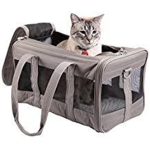 Sherpa Original Deluxe Pet Carrier, Large, Gray