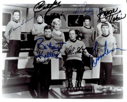 Original Autograph (Star Trek Original Cast Signed Autographed 8 X 10 Reprint Photo - Mint Condition)