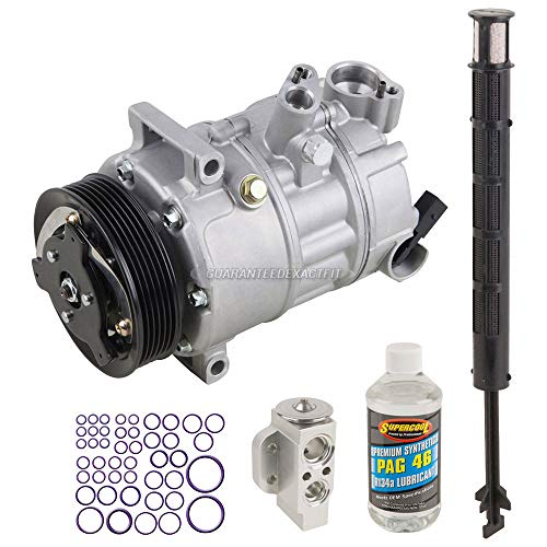 AC Compressor w/A/C Repair Kit For Volkswagen VW Passat & CC - BuyAutoParts 60-80382RK New ()