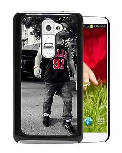 WANY Beautiful Classic drake wearing Black LG G2 Case