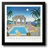 South Ocean Boulevard 31x31 Framed Art Print by McKnight, Thomas
