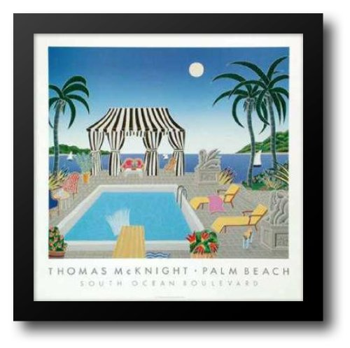 South Ocean Boulevard 31x31 Framed Art Print by McKnight, Thomas by ArtDirect