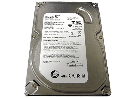 Seagate Pipeline HD ST3500414CS 500GB 5900RPM 16MB Cache SATA II 3.0Gb/s 3.5in Internal Hard Drive (PC, RAID, NAS, CCTV DVR) [Renewed] -w/1 Year Warrany 2 500GB Capacity, 5900RPM Rotation Speed, 16MB Cache 3.5in Internal Hard Drive, SATA2, Heavy Duty, Low Power & Quiet Works for PC, NAS, NVR, Surveillance CCTV DVR