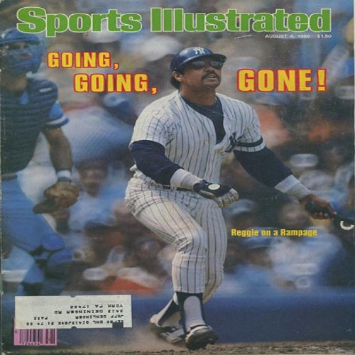 Reggie Jackson 1980 Sports Illustrated Magazine