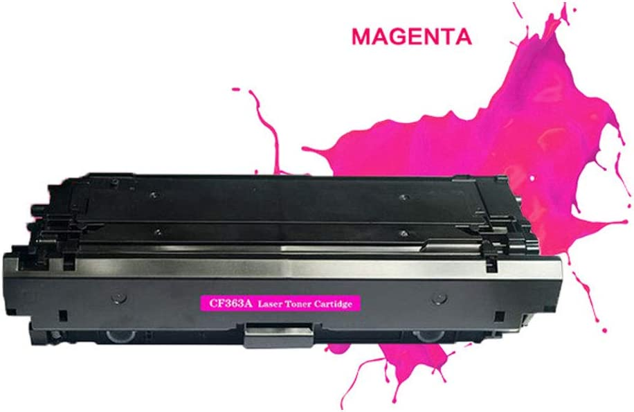 NO.2 BAG CF360A 508A Compatible HP M553DN M553N//X M552DN Toner Cartridge Replacement Original Office Consumables The Toner Works Very Well The Colors are Vivid and Bright-Yellow
