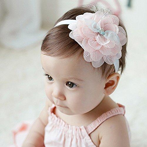 Kopfschmuck für Baby Mädchen in Vintage Stil mit Stickereien