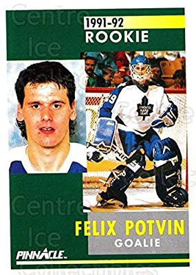 (CI) Felix Potvin Hockey Card 1991-92 Pinnacle (base) 345 Felix Potvin