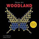 mosaic sticker by number - Sticker Art Woodland