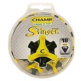 Champ Scorpion Stinger Q-Lok Golf Spikes, 18 Count