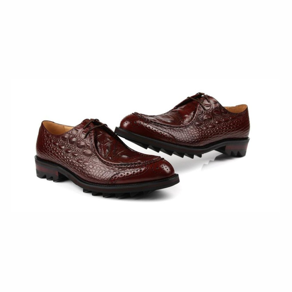 Mens Fashion Leather Formal Shoes,Business Pointed Toe Shoes British Style Uniform Dress Shoes,Wedding Shoes,Casual Party,Brown,43