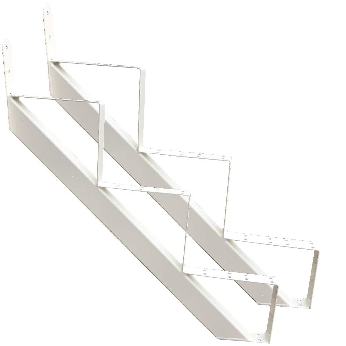 Eck-Glasregal grau Badezimmer-Regal inkl B/ücherregal Glasboden geschwungen Regalset 32 x 32 cm x 6 mm Tr/äger