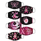 7 PACK Breast Cancer Awareness Pink Ribbon