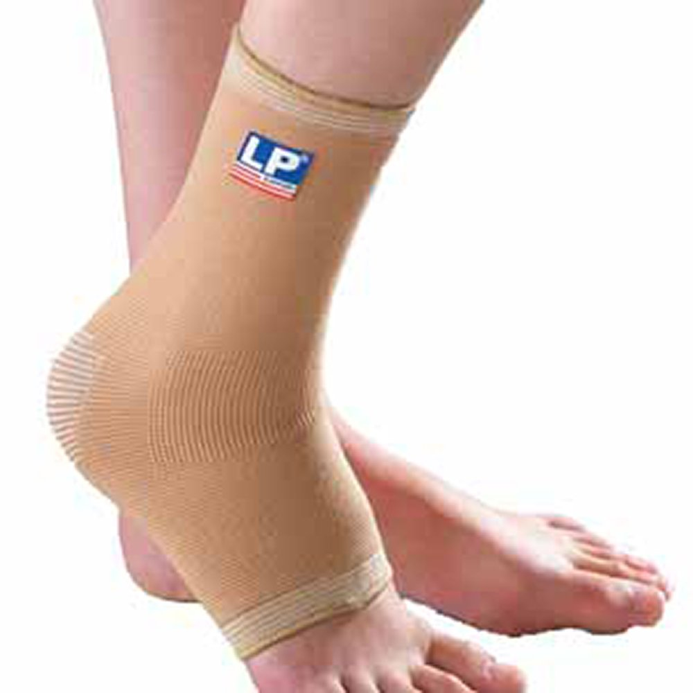 LP Ceramic Ankle Support (Unisex; Tan), Small
