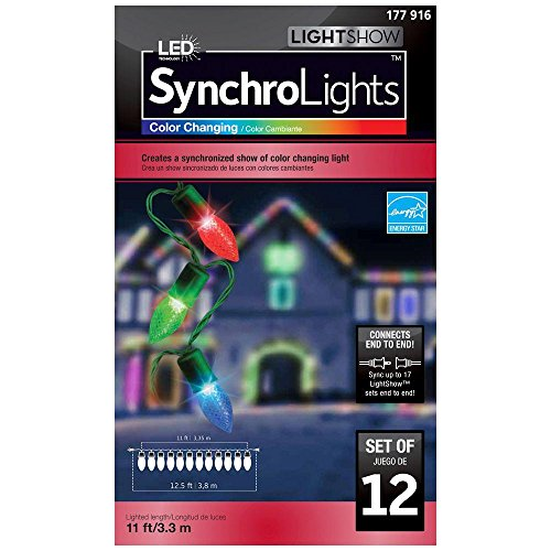 Color Changing Led Christmas Lights Gemmy