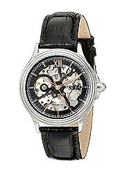 Stuhrling Original Men's 167.33151 Classic Delphi Priam Automatic Skeleton Black Watch