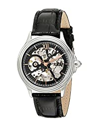 Stuhrling Original Men's 167.33151 Classic Automatic Skeleton Black Watch