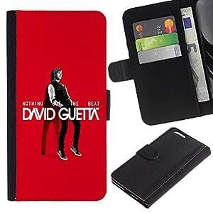 EuroCase - Apple Iphone 6 PLUS 5.5 - The Great Guetta - Cuero PU Delgado caso cubierta Shell Armor Funda Case Cover