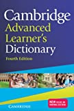 Cambridge Advanced Learner's Dictionary, , 1107685494