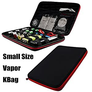New All in One USICIG® E-cig Tools Bag Case for Packing Atomizer E-liquid Coil Wire Cotton Tweezer Jig Master Kbag