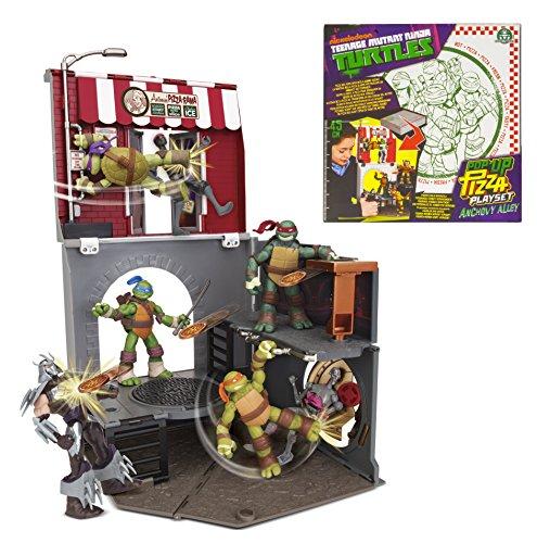 Teenage Mutant Ninja Turtles Pop-Up Pizza Anchovy Alley Playset (Ninja Turtle Pizza Playset compare prices)