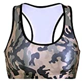 Vivi Womens Camo Aerobics Workout Gym Absolute Sports Bra As Picture M Review