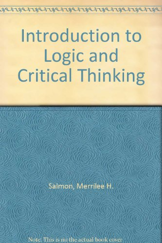 Intro to philosophy with logic and critical thinking