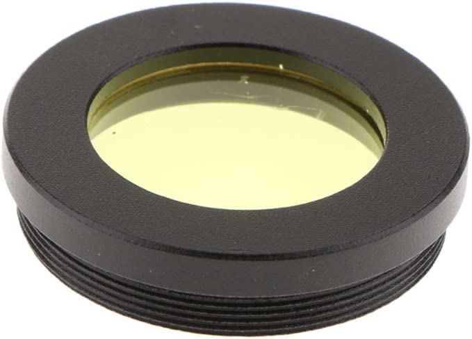 1.25inch Telescope Eyepiece Lens Accessory Filters Set Kit Yellow Red Green 4 in 1 Blue