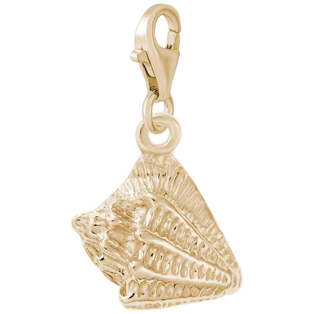 Rembrandt Charms Conch Charm with Lobster Clasp