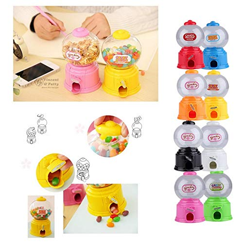 UATECH Cute Sweets Mini Candy Machine Bubble Gumball