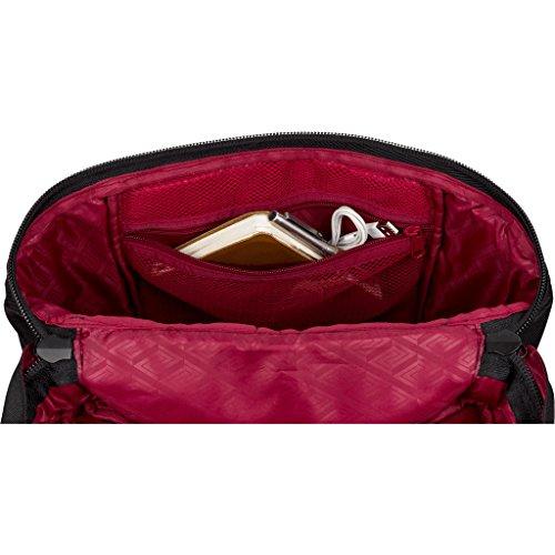 Nitro Backwoods Daypack Urban Lifestyle Rucksack für die Freizeit und Uni mit gepoltertem Laptopfach Toploader mit großem Stauraum und funktionalen Fächern Alltagsrucksack Wanderrucksack Schulrucksack True Black