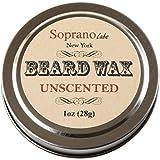 Unscented Beard Wax. Luxury Beard Conditioner. Organic Almond, Virgin Coconut and Vit E Oils, Cocoa, Coffee, Shea Butters.